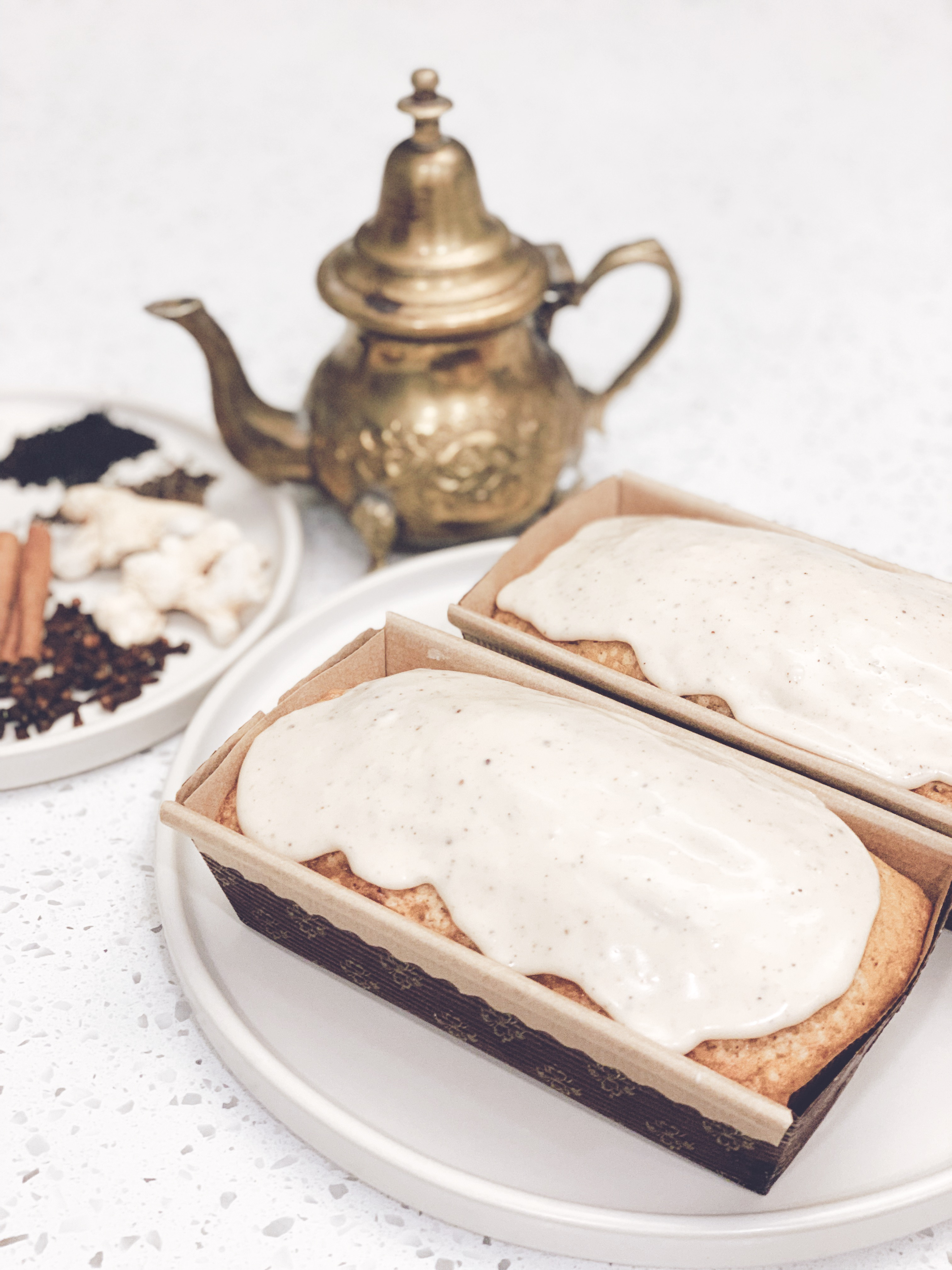 Chai Spice Pound Cake