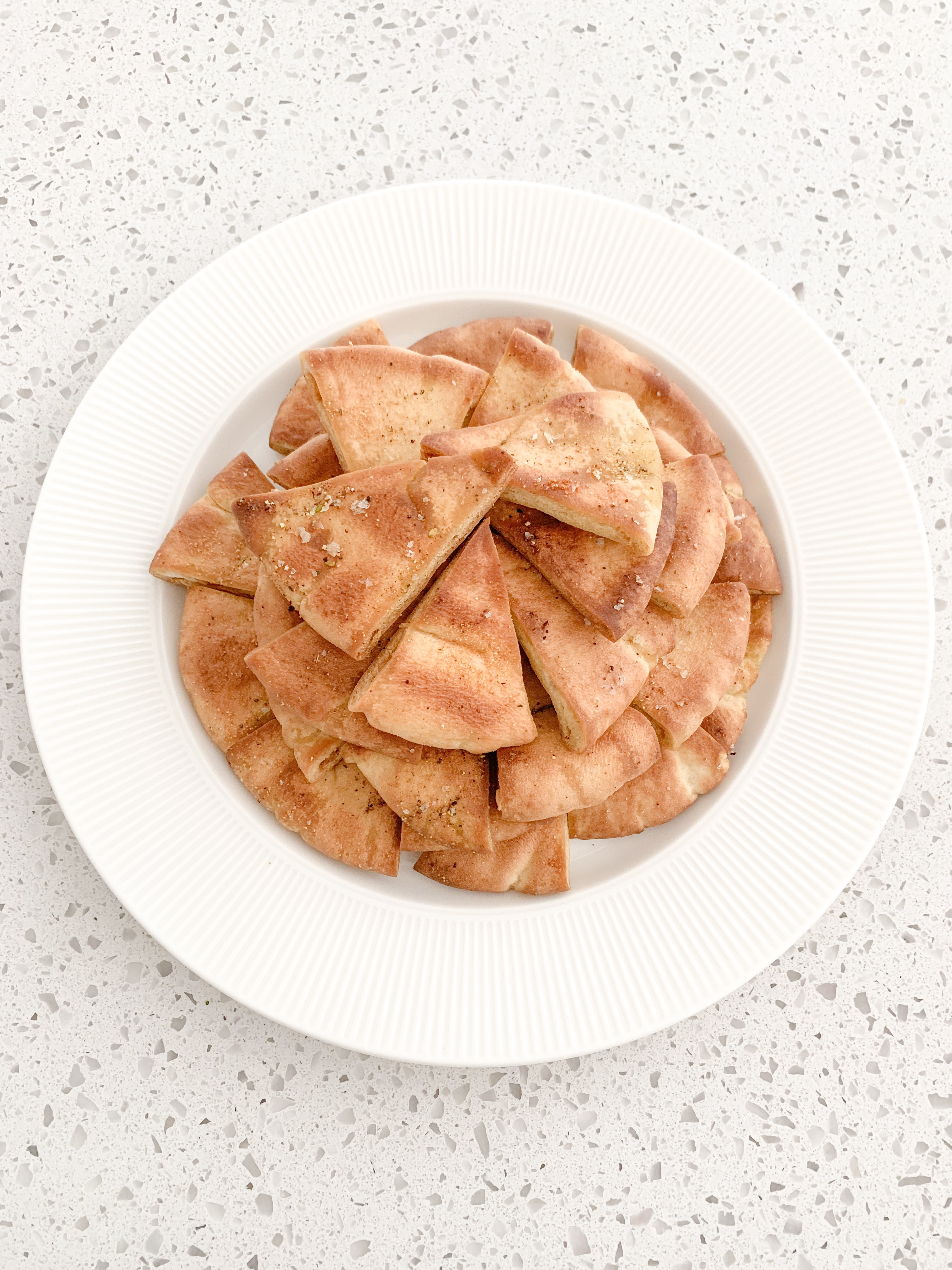 Easy Baked Pita Chips