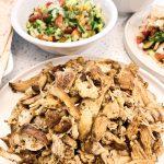 Slow Cooker Chicken Shawarma