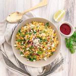 Mediterranean Elote Salad