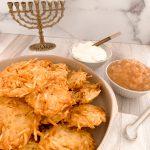 Traditional Potato Latkes